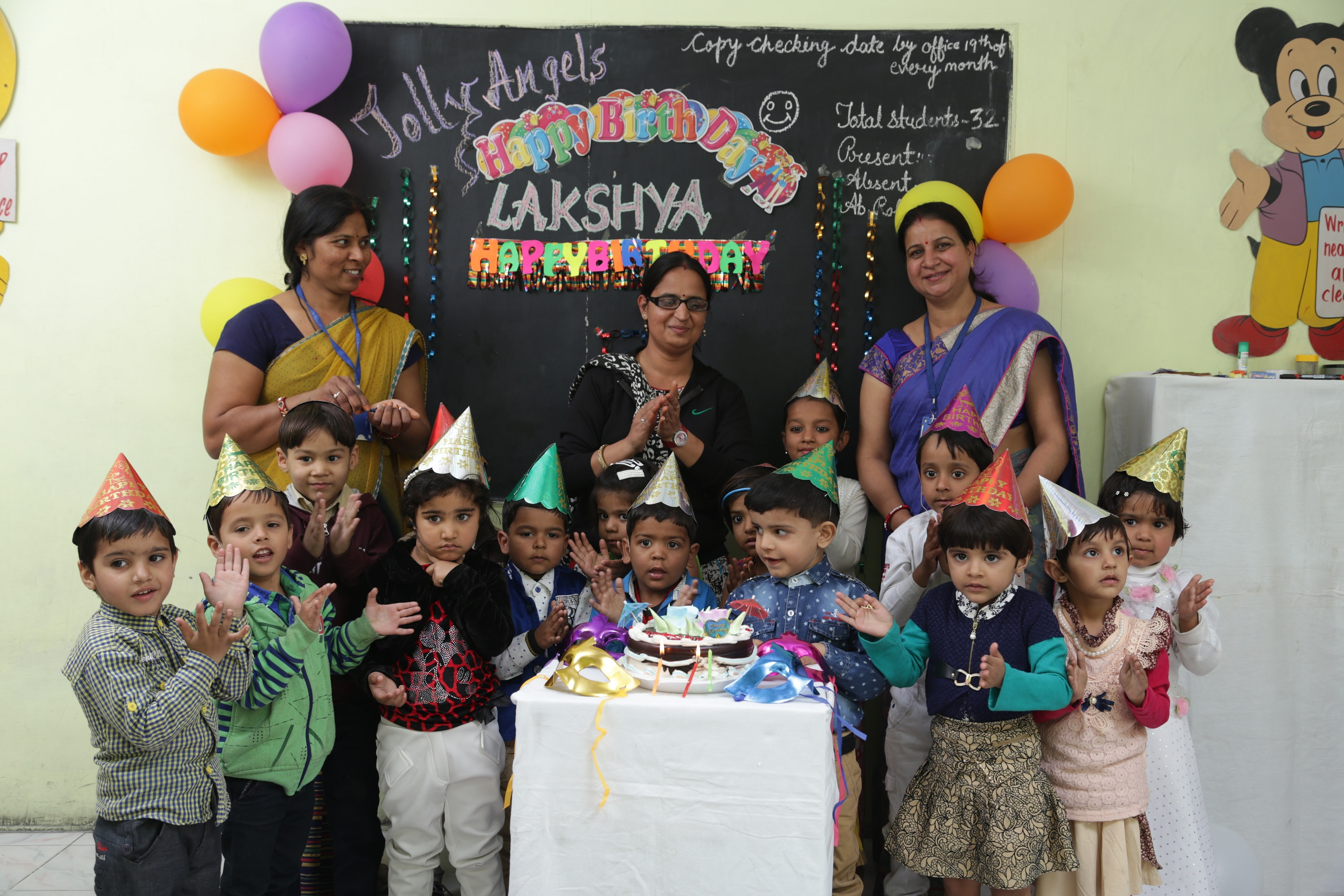Jolly angels kids Birthday celebration